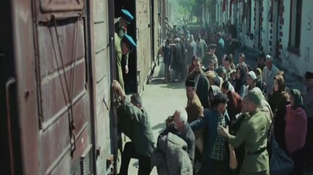 Sovyetlerin zulmü dizi oldu