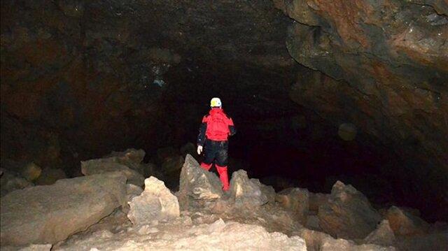 Türkiyenin ilk lav tüpü mağarası Hatayda bulundu