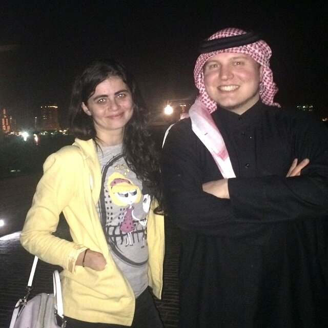 An American bedouin who is a YouTube superstar in Saudi Arabia