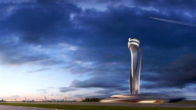 3. havaalanının kulesi belli oldu