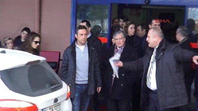 Mustafa Koçun kaldırıldığı hastaneden ilk görüntüler