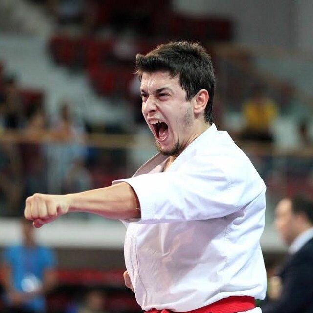 Karatede ilk madalya geldi
