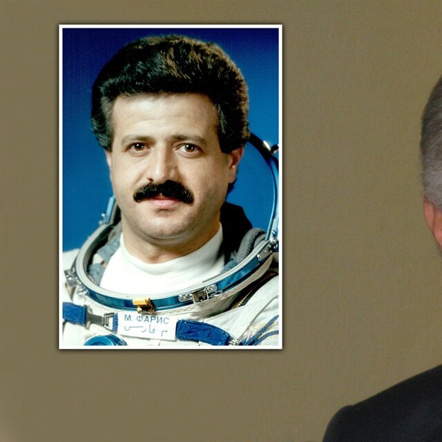 The space hero of the Arab World