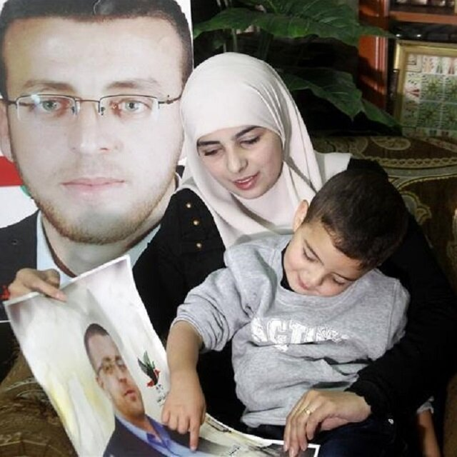 Wife of Palestinian hunger striker looks to Turkey for help