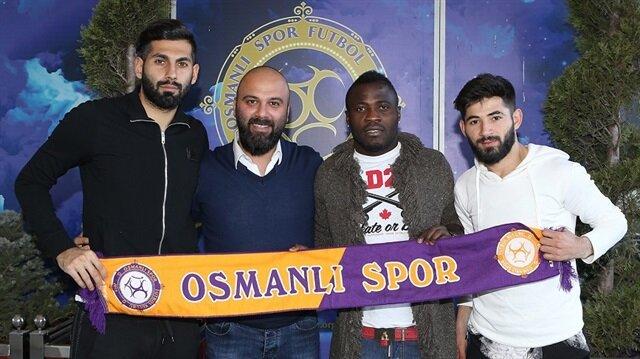Osmanlıspor'da son dakika transferi