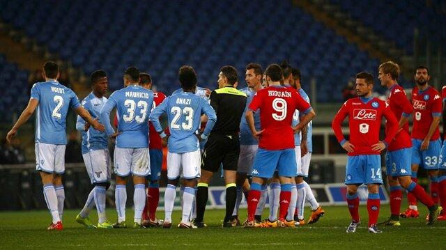 Lazio'dan ırkçılık: Maç durduruldu