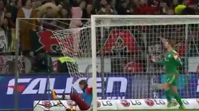 Müller hedef oldu