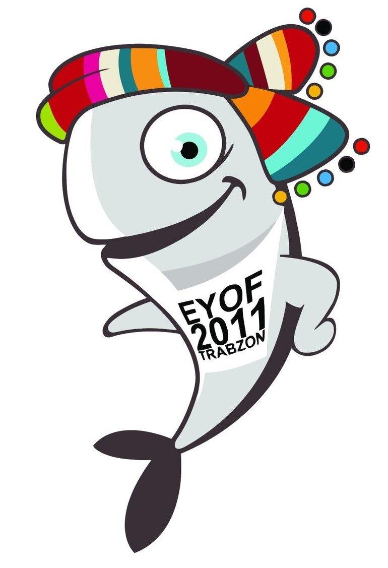 2011'de yapılan Avrupa Gençlik Olimpik Oyunları'nın maskotu Hamsi olmuştu.
