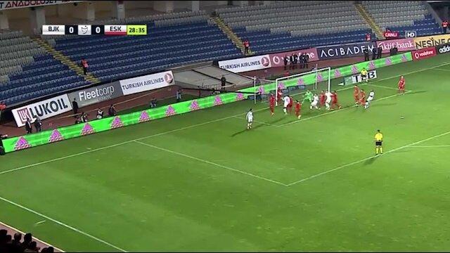 Görüntü Lig TV'den alınmıştır.