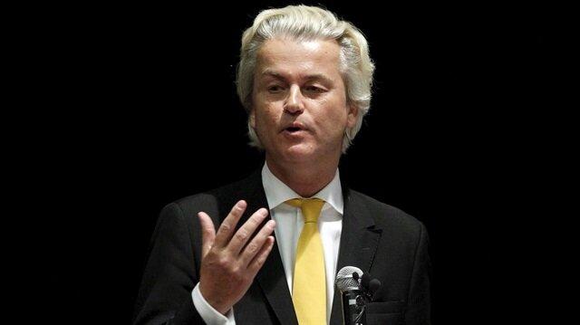 Irkçı lider Wilders hakim karşısında