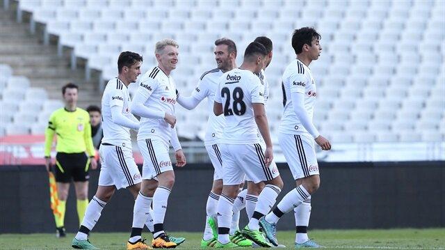 Beşiktaş gençleriyle kazandı