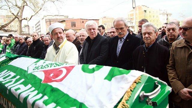 Bursaspor TV spikeri son yolculuğuna uğurlandı
