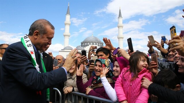 The Turkish-funded Diyanet Center of America was inaugurated by Turkish President Recep Tayyip Erdogan in the Washington DC area with a huge ceremony on ...