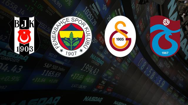 Beşiktaş,Fenerbahçe, Galatasaray ve Trabzonspor'un mali bilançoları açıklandı.