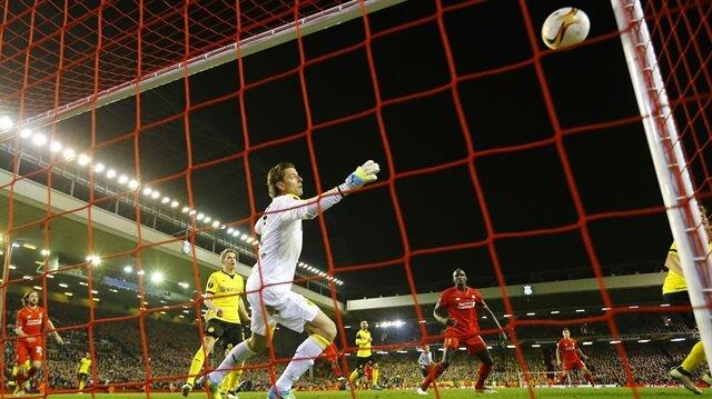 Liverpool'un son golü spikeri çıldırttı