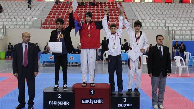 Türkiye Taekwondo birincisi BİRİKİM OKULLARI'ndan
