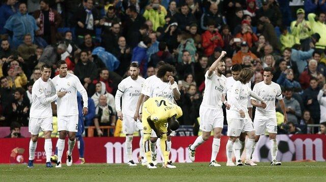 Real'den gol rekoru