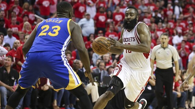 Harden, Warriors'a