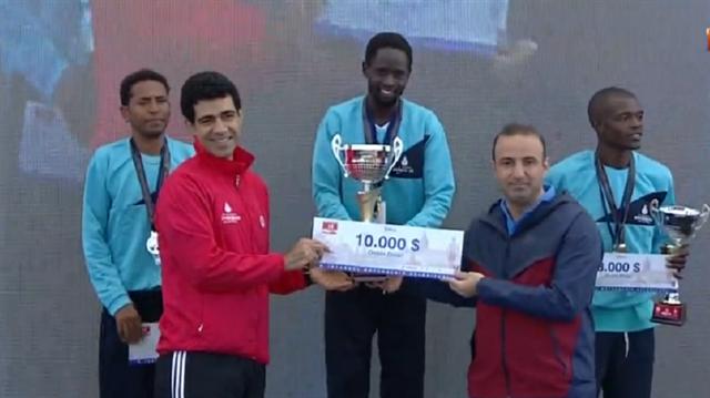 İstanbul Yarı Maratonu'nda zafer Ali Kaya'nın
