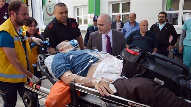 Gümüşhane'de terör saldırısı: 1 yaralı