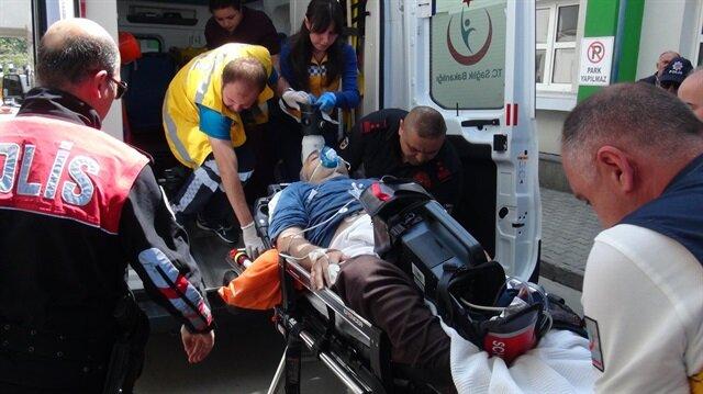 Yaşmaklı Barajı'nda terör örgütü PKK'lıların düzenlediği saldırıda 1 kişi yaralanmıştı.