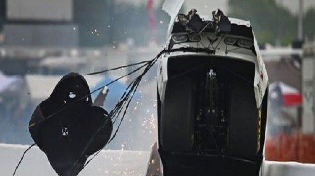 Sidnei Frigo'nun yaptığı kaza, izleyicilere korku dolu anlar yaşattı.