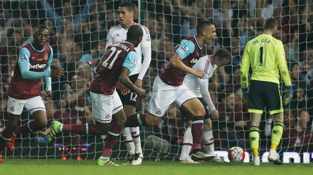 West Ham United 3-2 Manchester United (Maç Özeti)