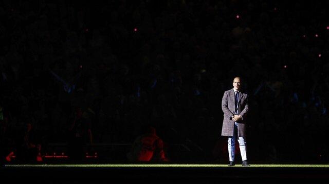 West Ham'ın efsane oyuncusu Di Canio veda törenindeydi...