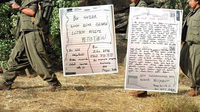 Kadın teröristin pişmanlık dolu mektupları