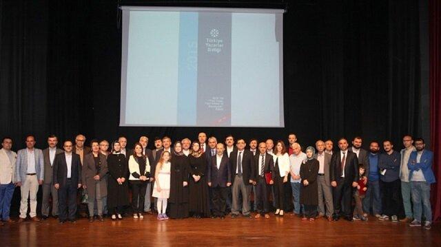 Zeytinburnu Kültür Merkezi'nde gerçekleştirilen ödül töreni.