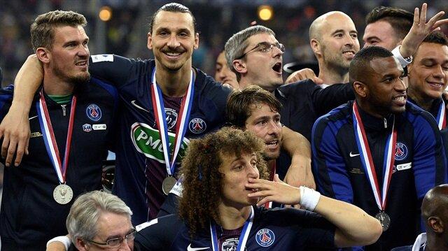 PSG, Fransa Kupası'nın sahibi oldu.