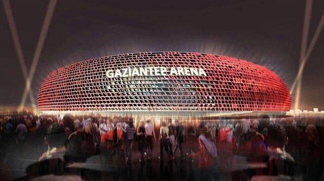 Gaziantep Arena baklava simgesiyle inşa ediliyor