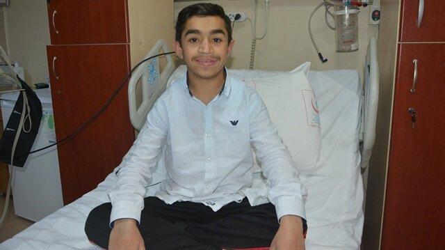 11 yaşındaki Seyfullah organ nakli oldu ve başarılı bir şekilde taburcu edildi.