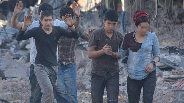 Terör örgütü PKK, çocukları hain planlarını uygulamak için piyon olarak kullanıyor.