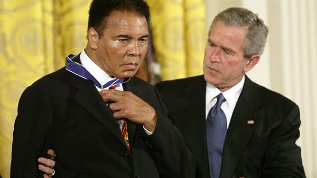 Muhammed Ali, Bush'u böyle rezil etmişti