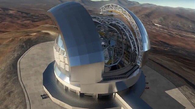 Şili de yapılacak dev optik teleskop dünyanın en büyüğü olacak
