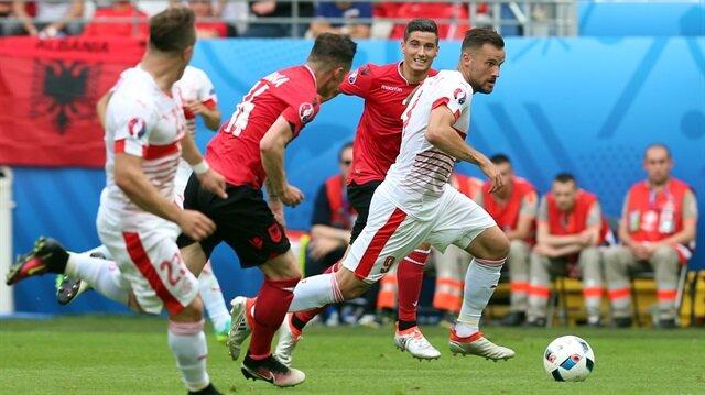 İsviçre, Arnavutluk'u 1-0 mağlup etti.