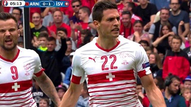 İsviçre EURO 2016'ya galibiyetle başladı
