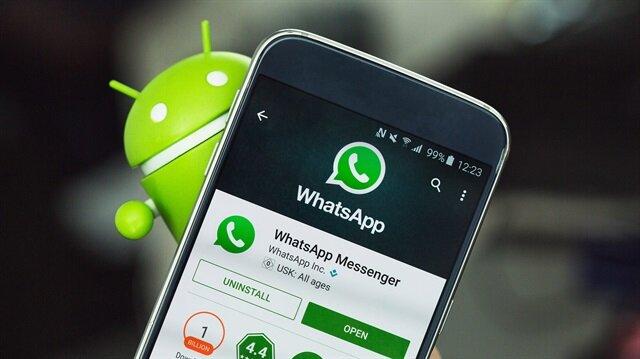 whatsapp sohbet silerken donuyor