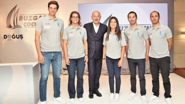 'Rüzgarın çocukları' Doğuş'la olimpiyatlara yelken açacak