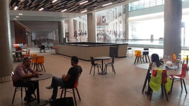 3. havalimanın ilk yolcu salonu tamamlandı