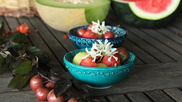 Ballı Karpuz Salatası
