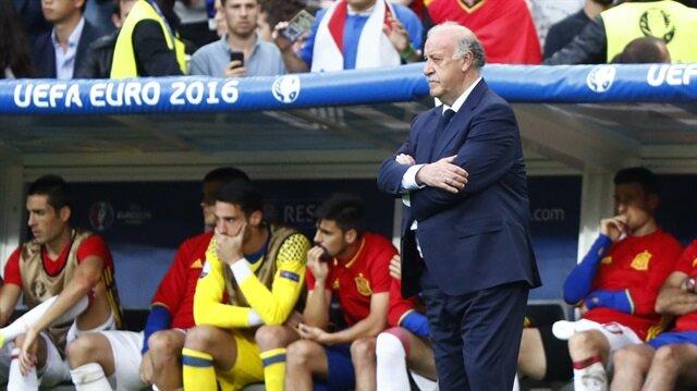 Del Bosque <br/>istifa etti