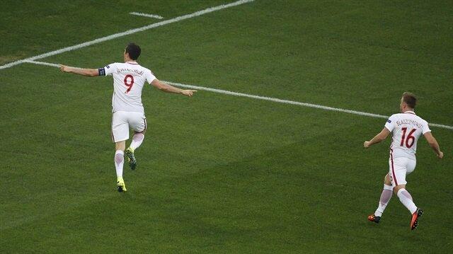 Lewandowski'den <br/>en hızlı gol