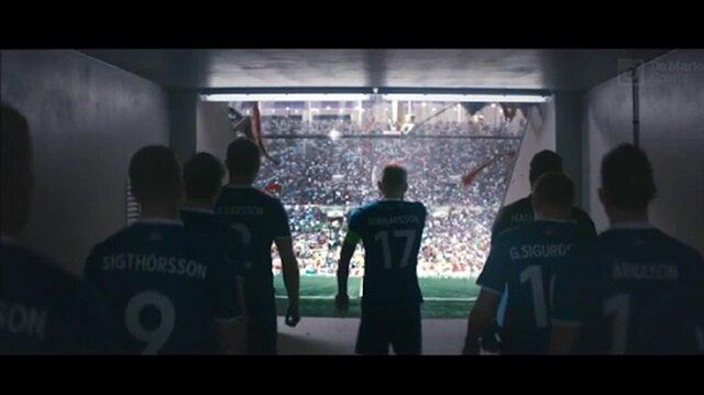 İzlanda Milli Takımı için hazırlanan reklam mest etti!