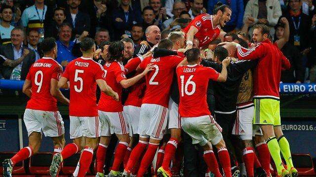 Galler yarı finalde Portekiz ile eşleşti.
