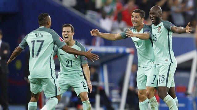 Portekiz finale yükseldi.