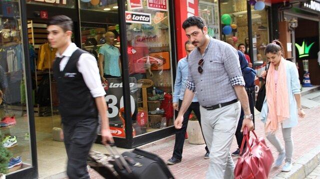İranlı turistler bayramı Van'da geçiriyor.