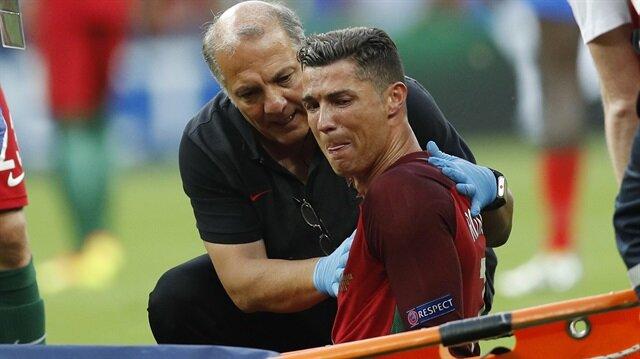 Ronaldo<br/>dünyayı ağlattı