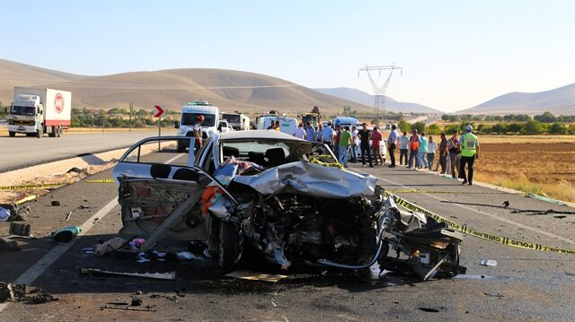 129 die, 471 injured in traffic accidents in Turkey during Eid